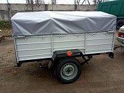 Легковой одноосный прицеп Днепр-200 и другие модели! Цена с колёсами Доброполье