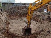 Демонтаж, рытье-копка котлованов. земляные роботы, услуги спецтехники Одесса