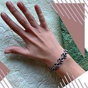 Срібний жіночій браслет «Змійка» Киев