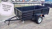 Купить новый легковой прицеп Днепр-210х130 от Кременчугского завода с доставкой по Украине Казатин
