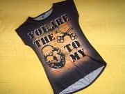 Фирменная футболка на худышку,отличное состояние Пирятин