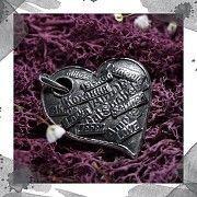 Срібний кулон «Кохаю» Киев