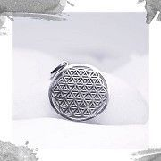Срібний кулон «Квітка життя» Киев
