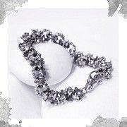 Срібний браслет «Геральдична лілія» Киев