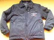 Теплющая зимняя курточка чёрного цвета Пирятин
