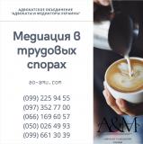 Медиация, переговоры в трудовых спорах, юрист Харьков Харьков