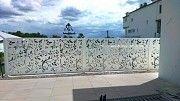 Забор из металла перфорированный Мариуполь