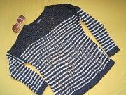 Красивый ажурный свитер,кофточка Yessica,р.М Пирятин