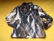 Коттоновый летний пиджак жакет,отличное состояние Пирятин