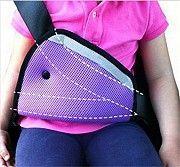 Трикутний адаптер на ремінь для дитини. Фіксатор заміняє автокрісло Стрый