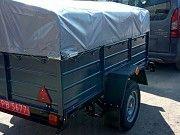 Купить новый легковой прицеп Днепр-1700х1300х40 от производителя! Красноград