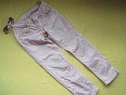 Укороченные джинсы,змеиный принт,на замочках внизу,р.38,Kookai,Турция Пирятин
