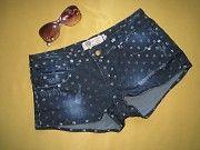 Крутые стильные джинсовые шорты рванки,р.36,Турция Пирятин