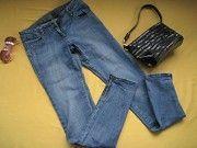 Стильные джинсы штаны,замочки внизу,Denim&Co,идеальное состояние Пирятин