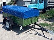 Купить одноосный легковой прицеп 200х130 от Кременчугского завода по доступной цене! Мариуполь