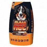 """Сухой корм для собак Пан Пес """"ЛАЙТ"""" 10 кг для малоактивных собак различных пород склонных к полноте. Северодонецк"""