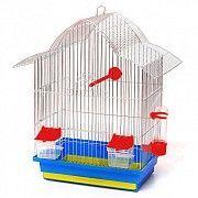 """Клетка для птиц """"МИНИ-2"""" (цинк, 330х230х470) Северодонецк"""