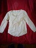 """Рубашка полосатая на девочку """"Blue Motion"""" S/44 размер-size Киев"""