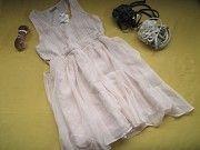 Новое красивенное пудровое платье,спинка в паетках,р.36,Bay Пирятин