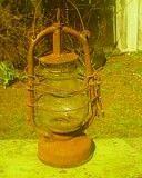 керосиновая лампа Славянск