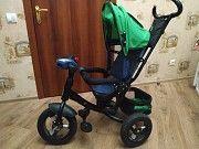 Детский трёхколёсный велосипед-коляска Одесса