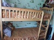 продам двуспальну деревяную трансформер кровать Черкассы