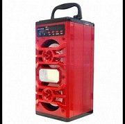 Портативная колонка Bluetooth+FM JHW-V902 Красная Кривой Рог