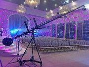 Операторский кран 10 метров аренда/прокат для видеосъемки рекламы, кино, клипы, концерты, фильмы Київ