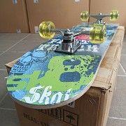 Скейтборди 80см, колеса PU 5см Стрый