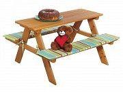 Детский складной стол с лавочками Киев