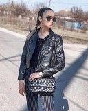 клатч , сумка черный Chanel 2.55 шанель через плечо Киев
