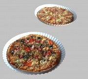 Одноразовые картонные тарелки для пиццы, прямоугольные картонные формы Харьков