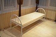 Двухъярусные металлические кровати, односпальные кровати бюджетные. Дніпро