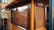 Прозрачные шторы и ролеты для защиты от ветра, дождя, снега Черновцы