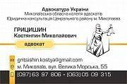 Адвокат. юридичні послуги. цивільні справи. розірвання шлюбу. аліменти Николаев