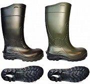 Сапоги резиновые с металлическим носком, защитные Луганск