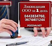 Ликвидировать ООО в Киеве за 1 день Киев