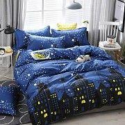 Постельное белье Ночной городок Размер кроватка Размер семейный Дніпро