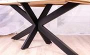 Опора для стола з металу СТ 32 , Мебель лофт Иршава