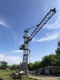 Продам башенный кран ПС-16 с подкрановыми путями Лисичанск