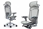 Кресла OKAMURA CONTESSA II SECONDA Light Grey серый каркас Киев