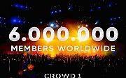 Приглашаю в проект Века! Crowd1 - нас уже 6 000 000 Никополь