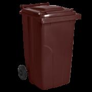 Бак для мусора на колесах 240 литров с крышкой Киев