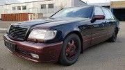 Продажа MERCEDES-BENZ S 600 V12 LANG (W140), 1998 г., 394000 км., черный, MAGNUM TUNING (Киев, Украи Киев