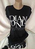 Стильная черная женская футболка Хмельницкий