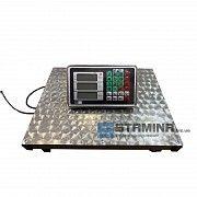 Товарные весы Stamina на 300 кг с нержавеющей платформой 400×500 мм Бурштын