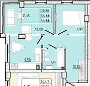 Продается уютная двух комнатная квартира в доме комфорт класса Одесса