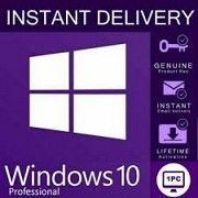 Лицензионный ключ Windows 10 PRO 32/64 bit Цифровая лицензия Киев