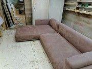 Перетяжка, обивка мягкой мебели с изменением дизайна и ремонтом. Петровское