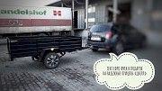 Прицеп усиленный к легвому авто Д-250х150х50 и другие модели надёжных прицепов Кролевец